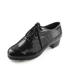Women's Men's Unisex Leatherette Tap Dance Shoes