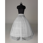 Nylon A-Line Full Gown 1 Tier Floor-length Slip Style/ Wedding Petticoats (037023571)