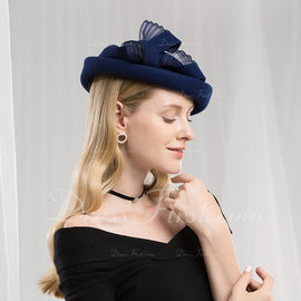 c2f41865f54 Ladies  Fashion Elegant Simple Wool Beret Hats Tea Party Hats (196192137) -  Hats - DressFirst
