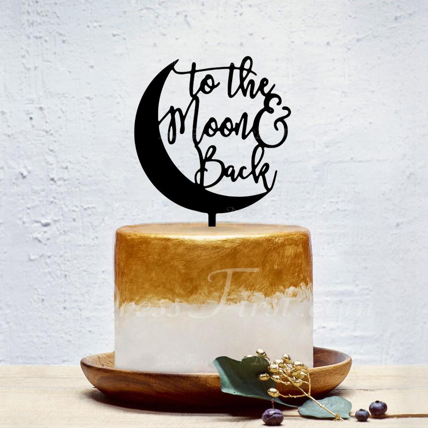 Klasický Akryl Ozdoby na dort