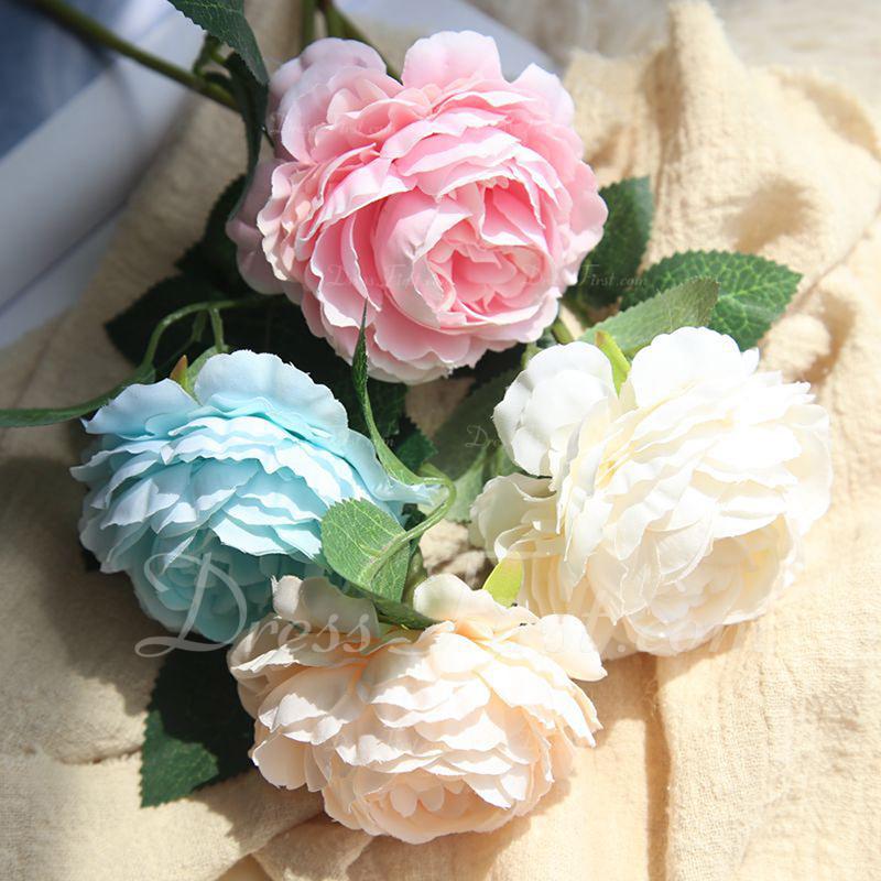 Fin/Blomsten Designet Nydelig Silke blomst Kunstige Blomster (sett av 4)