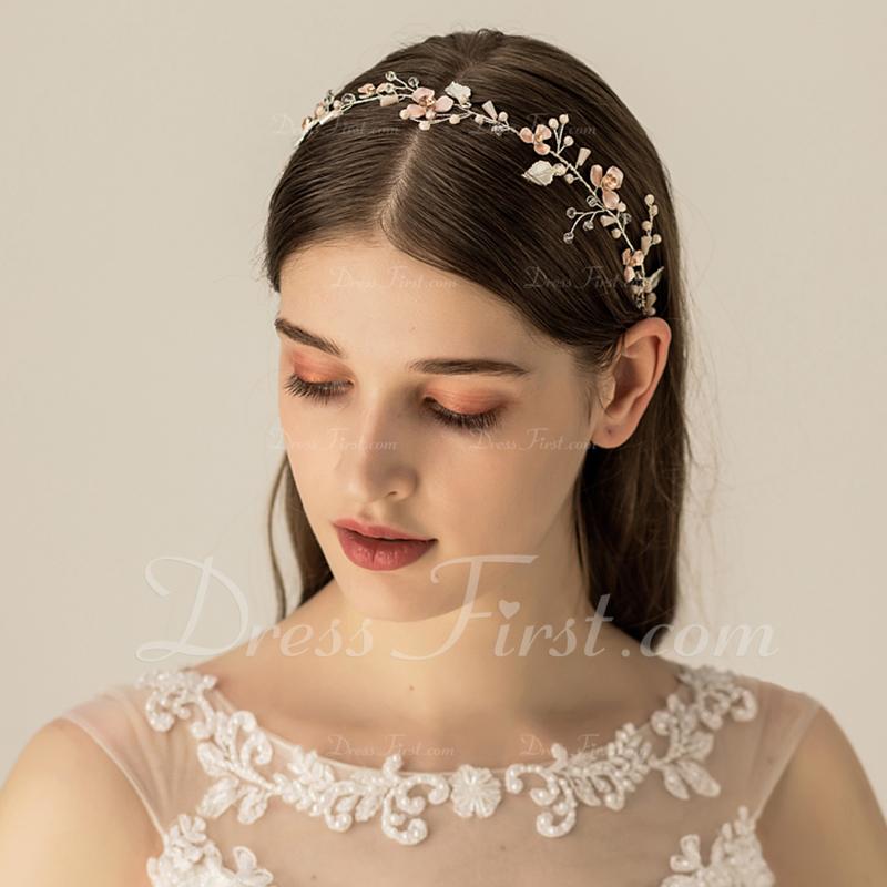 Filles Élégante Perles d'eau douce Bandeaux (Vendu dans une seule pièce)