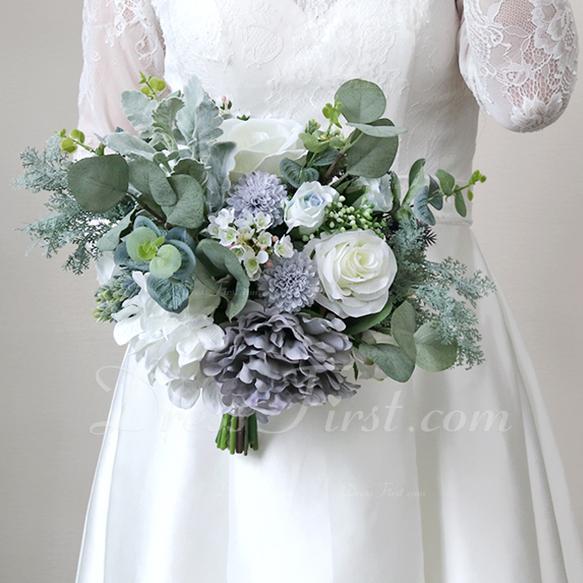 Forma libre Flores de seda Ramos de novia -