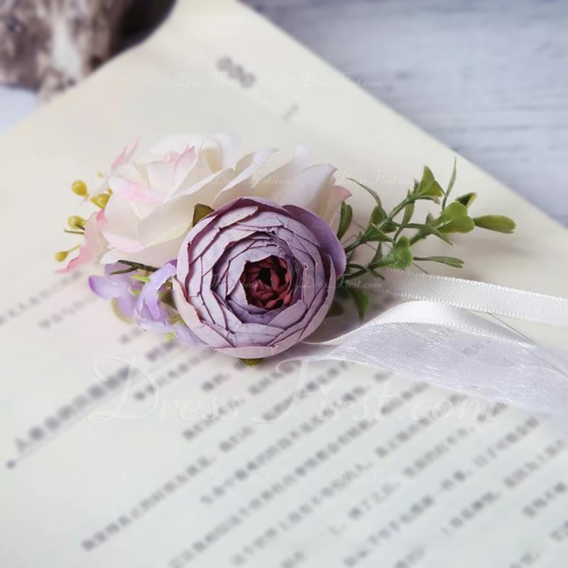 ハンドタイド Flower Decoration 手首のコサージュ (単一片で販売) -