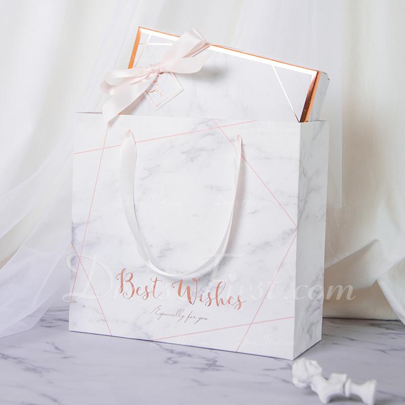 Druhna Prezenty - Prosty papier do karty Pudełko / torba na prezenty