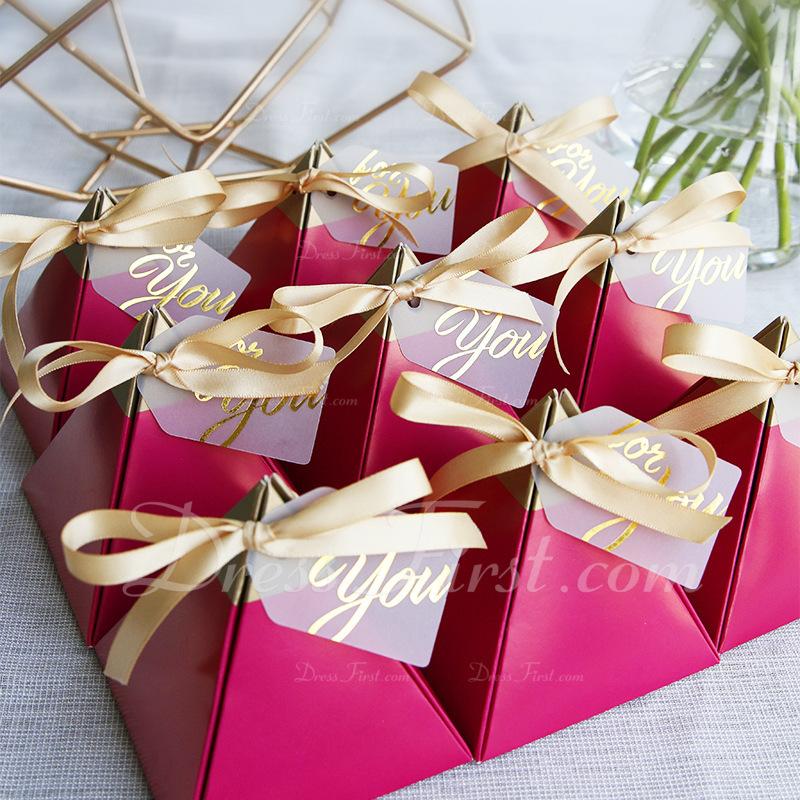 永遠の愛 カード用紙 記念品ボックス とともに リボン (30本セット)