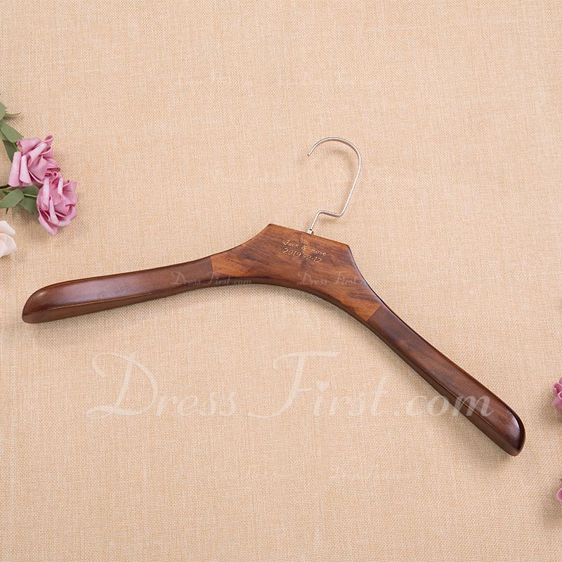 花嫁のギフト - 個別の 魅力的 Special シンプル 木製 ハンガー