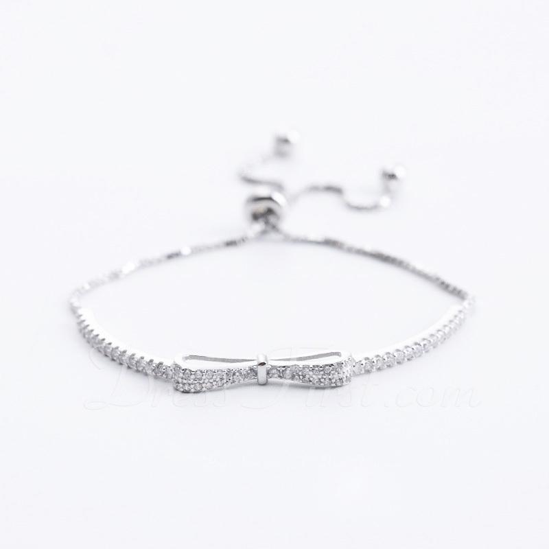 Antioxidante Cadena de enlace Bracelets de demoiselle .d'honneur Bracelets Bolo -