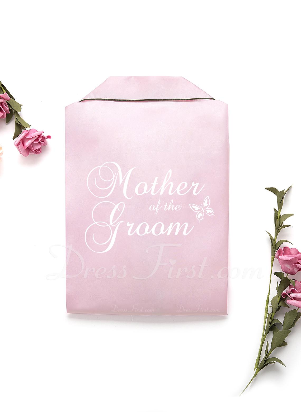パーソナライズド charmeuse 花嫁 ブライドメイド ママ ジュニアブライドメイド 刺繍入りローブ
