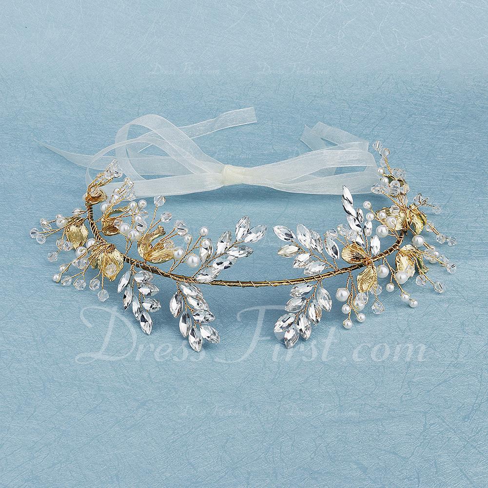 Vakkert Rhinestone/Imitert Perle Hårnåler med Venetianske Perle (Selges i ett stykke)
