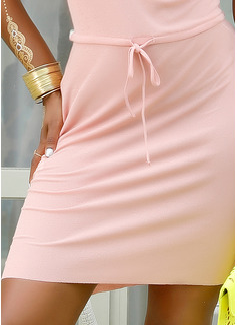 Pokrowiec Dekolt w kształcie litery V Poliester Modne Suknie