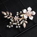 Señoras Aleación/La perla de faux Horquillas