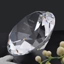 Personalized Crystal Diamond Crystal Keepsake