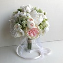 Blooming Round Bridesmaid Bouquets -