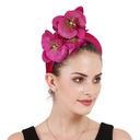 Dames Glamour/Élégante Velours avec Une fleur Chapeaux de type fascinator/Kentucky Derby Des Chapeaux