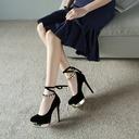Dla kobiet Zamsz Obcas Stiletto Czólenka Platforma obuwie