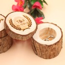 Groom Gifts - Personalized Elegant Wooden Ring Box (257186422)