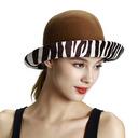 Ladies ' Wzrok/Bardzo Wełna Bowler / Cloche Hat