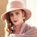 Ladies' Glamourous/かわいい ウール フロッピー帽子