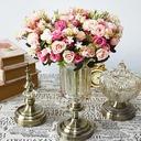 カラフル フリーフォーム シルクフラワー デコレーション/結婚式のテーブルの花 -