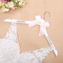 花嫁のギフト - 個別の クラシック 木製 ハンガー
