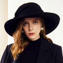 Ladies' Glamourous/エレガント ウール フロッピー帽子