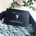 Groomsmen Gifts - Elegant Card Paper Wedding Day Card (258172167)