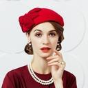 Dames Mode Coton avec Bowknot Chapeaux de type fascinator/Chapeaux Tea Party