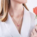 Dames Mooi Kristal/Koper Kristal Kettingen Haar/Vrienden/Bruid/Voor Haar