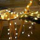 Stjerners utforming Nydelig/Pen PVC LED Lys (Selges i ett stykke)
