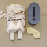 Brudtarna Presenter - Sexig Delikat Charmeuse Fjäder Presentförpackning / väska (Set med 3)