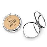 Kaaso Lahjat - Henkilökohtaista Tyylikäs Erityinen Herättävää Ruostumaton Teräs Kompakti peili
