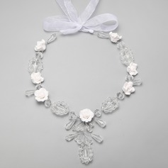 Gorgeous Legering/Kristall Damer' Halsband