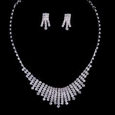 Nice Strass Senhoras Conjuntos de jóias