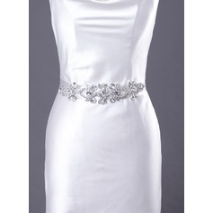 Fashional Satin Sash With Beading