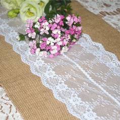 Tischdecke Leinen/Lace (Sold in a single piece) Hübsche Hübsche/Elegant Tisch Deko