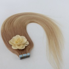 5A Virgin / remy Rakt människohår Tape i hårförlängningar 40pcs 100g