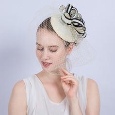 Dames Magnifique/Mode/Glamour Batiste Chapeaux de type fascinator