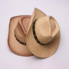 Herren Glamourös/Elegant/Einfache Bast Stroh Cowboy-Hut