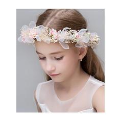 Poliéster com Renda/Flor flor Headband