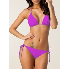 Sexy Couleur unie Bikini (202122153)