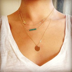 Pretty Alloy Women's Necklaces