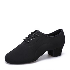 Men's Canvas Latin Modern Practice Dance Shoes