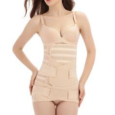 Mulheres Clássico/Casual Poliéster Respirabilidade Cintura Cinchers Cintas