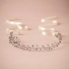 Ladies Classic Rhinestone/Alloy Headbands With Rhinestone