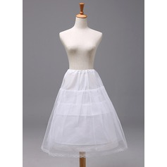 Girls Polyester 2 Tiers Petticoats (037120416)