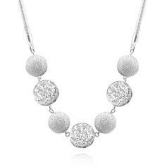 Elegant Koppar/Silver Damer' Halsband