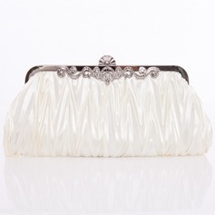 Gorgeous Silk Clutches (012005434)