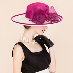Señoras' Elegante Batista Bombín / cloché Sombrero