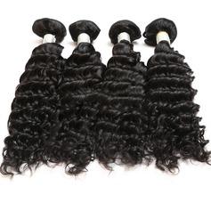 7A Coupe primaire Profond les cheveux humains Tissage en cheveux humains (Vendu en une seule pièce) 100 g